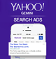Yahoo Search Advertisement