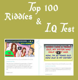 Watch Top 100 Riddles & I.Q Test Videos