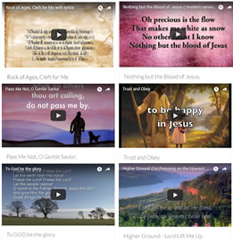 Watch Hymn Lyrics Videos